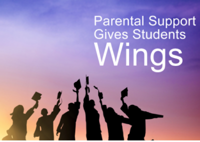 Parental Support Gives Students Wings
