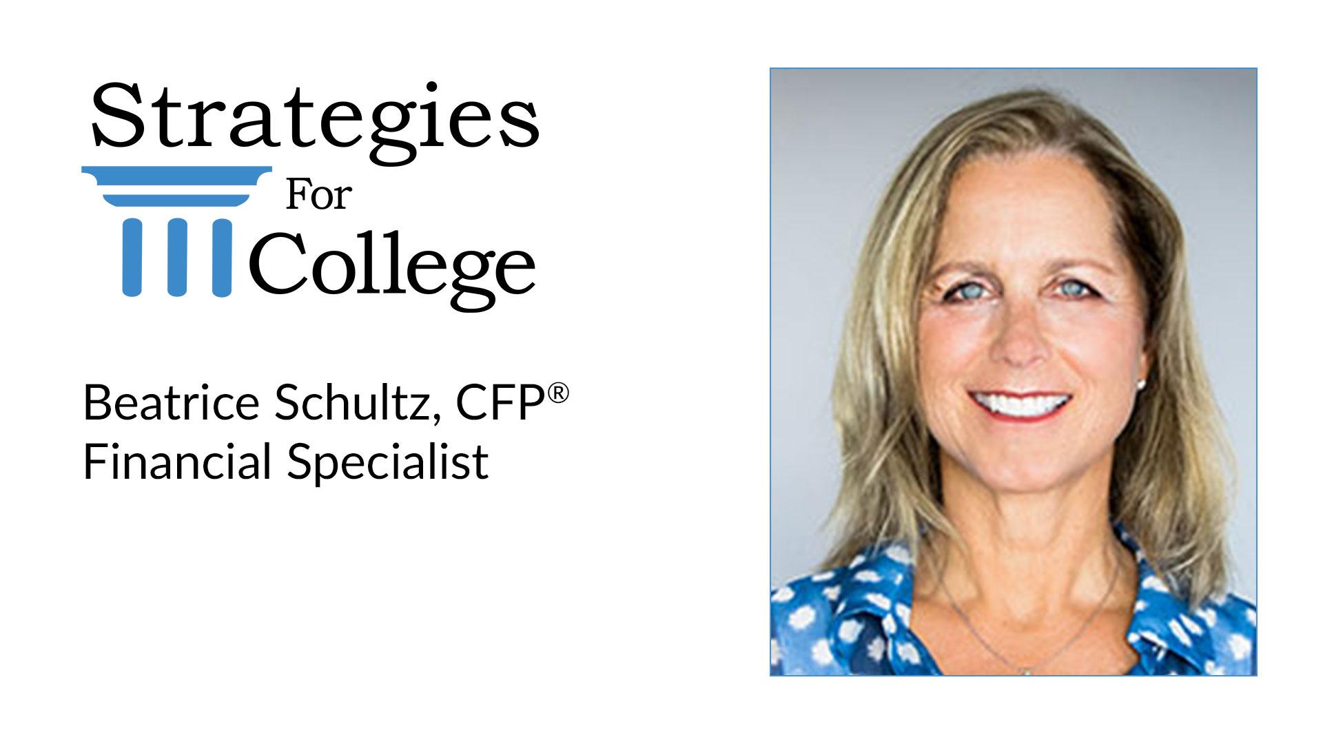 Beatrice Schultz, CFP